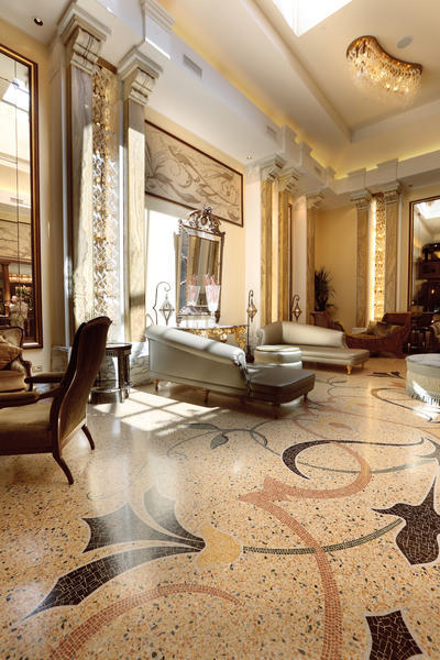 entrance furnishing hotels luxury d cor wainscoting ForArredamenti Di Lusso Moderni