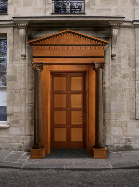 Wooden entrance doors - entrance door - solid wood doors ...